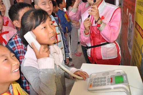 青岛市洛阳路第一小学师生走进海丽雅集团应急安全教育培训中心